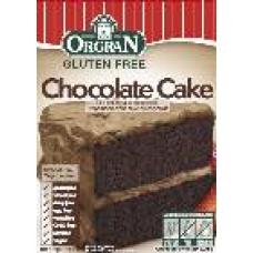 cake mix voor chocolade cake, Orgran
