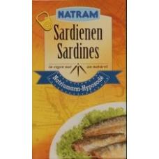 sardientjes op eigen nat (125 gr.) MINDER ZOUT THT 31- 12 2020 NU € 1,95