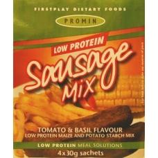 worstjes vervanger tomaat en basilicum 4x30 g, Promin